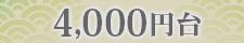 4000円台のページ用